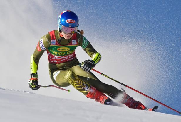 Trotz Stars wie Mikaela Shiffrin kämpft die FIS mit einem «Altersproblem»: Bei Skirennen sind fast die Hälfte der TV-Zuschauer über 60 Jahre alt.