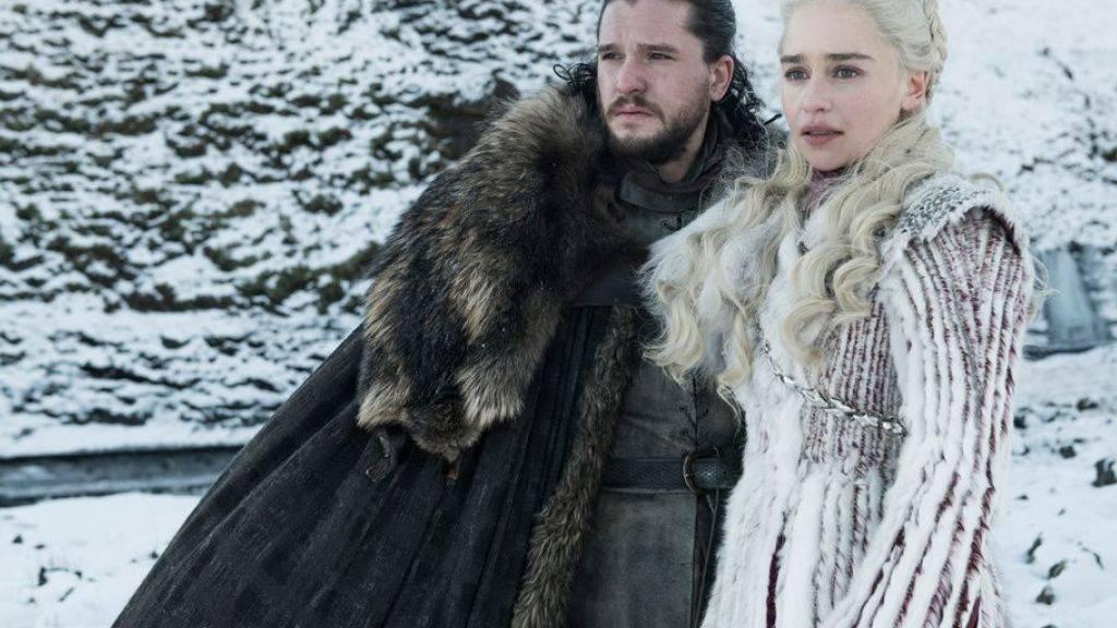 Die erste Folge der achten Staffel der Fantasy-Saga «Game of Thrones» war am 15. April 2019 auch auf dem Sender RTS zu sehen. (Archiv)