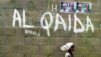 Al Qaida-Sprayerei in Nigeria. (Archiv)
