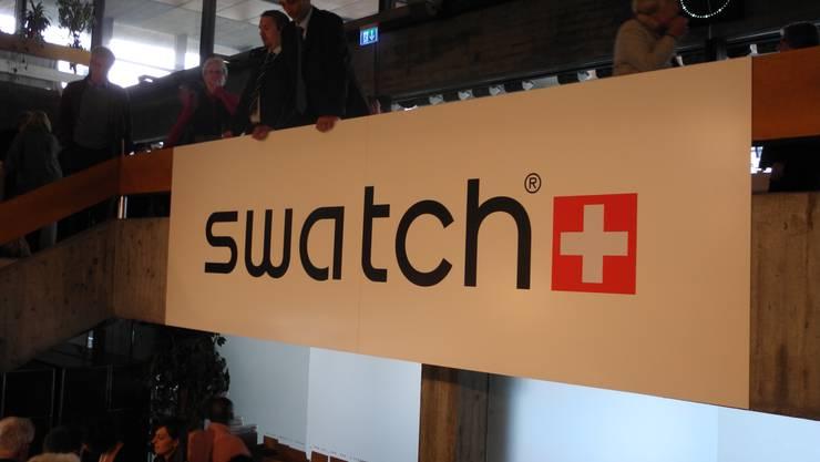 Swatch Generalversammlung in Biel