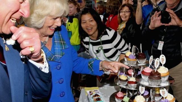 Charles, Camilla, Cupcakes (Archiv 19.5.)