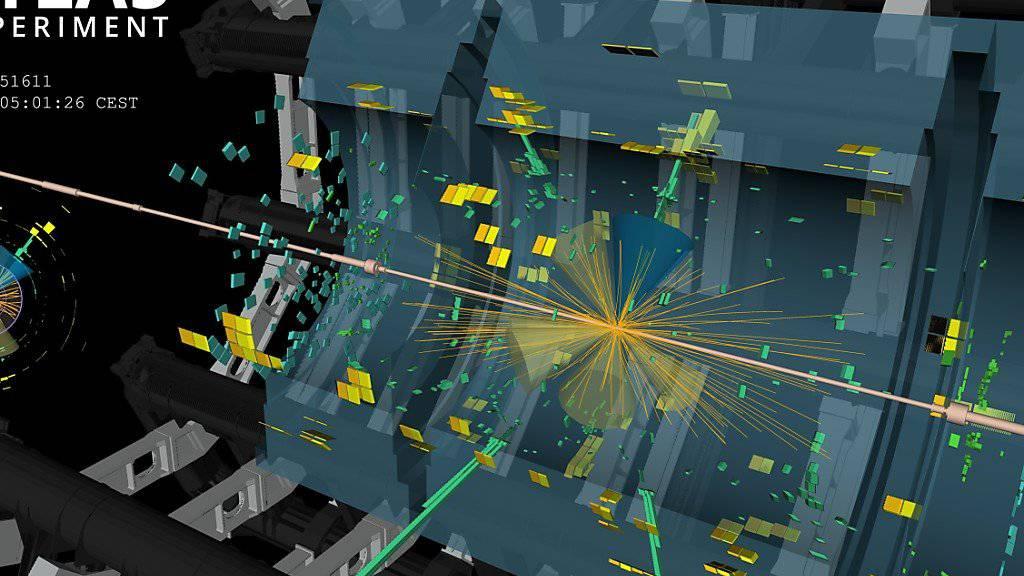 Forschende am Cern haben eine neue Reaktion des Higgs-Bosons entdeckt. Das Teilchen, das erstmals 2012 am Cern nachgewiesen wurde, wird weiterhin erforscht.