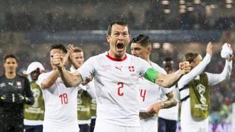 Nati-Captain Stephan Lichtsteiner nach dem Spiel gegen Serbien.