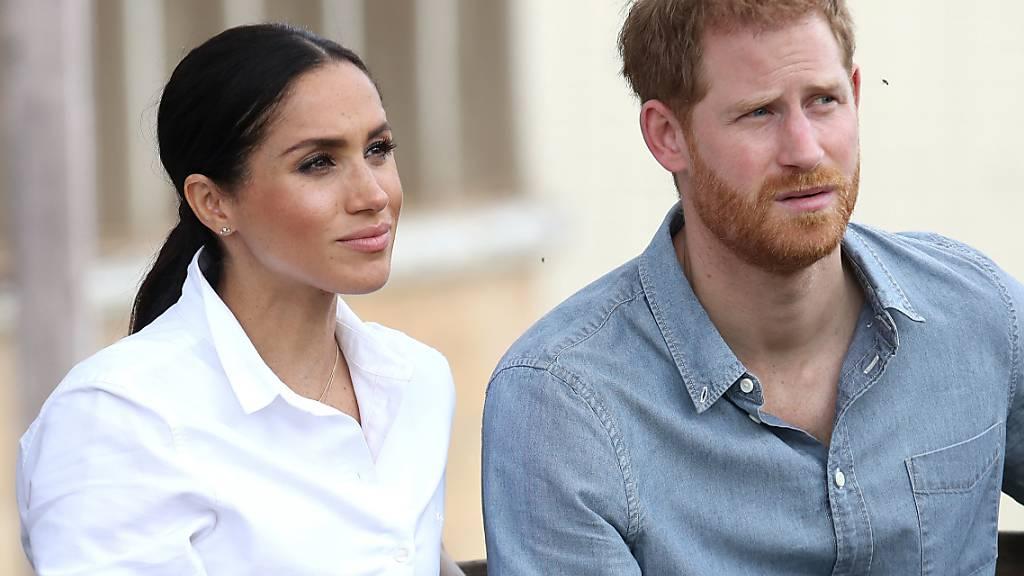 ARCHIV - Prinz Harry und Herzogin Meghan in Dubbo in Australien. Foto: Chris Jackson/Press Association/dpa