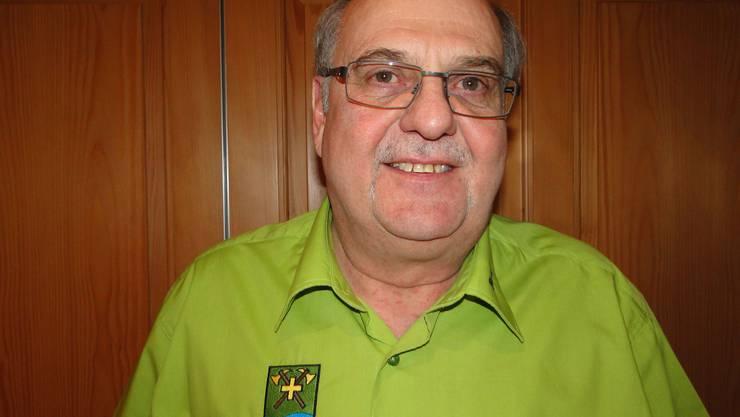 Erstes Ehrenmitglied Rolf Wiederkehr.