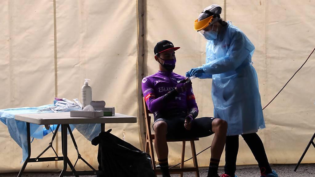 Erfreulich: Am Ruhetag fiel keiner der Coronatests bei der Vuelta positiv aus