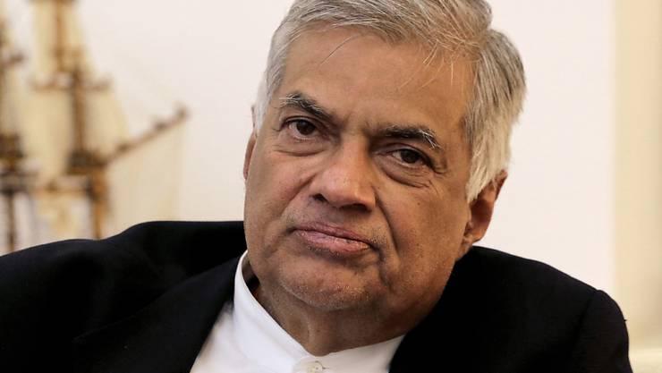 Wieder im Amt: Sri Lankas gestürzter Ministerpräsident Ranil Wickremesinghe ist nach etlichen Wirren auf dem Posten zurück.