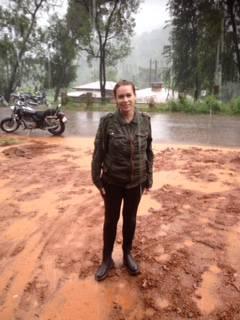 Unterwegs im Monsun...