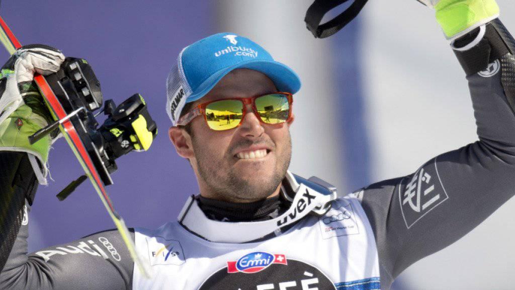 Thomas Fanara, überraschender Sieger in St. Moritz