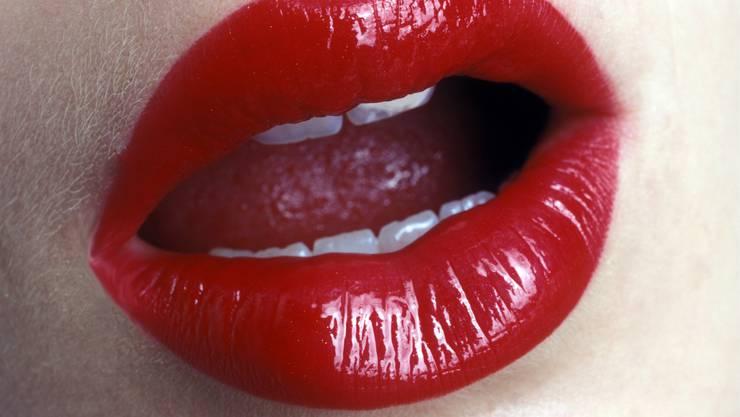Rote Lippen sollen nicht nur zum Küssen da sein.
