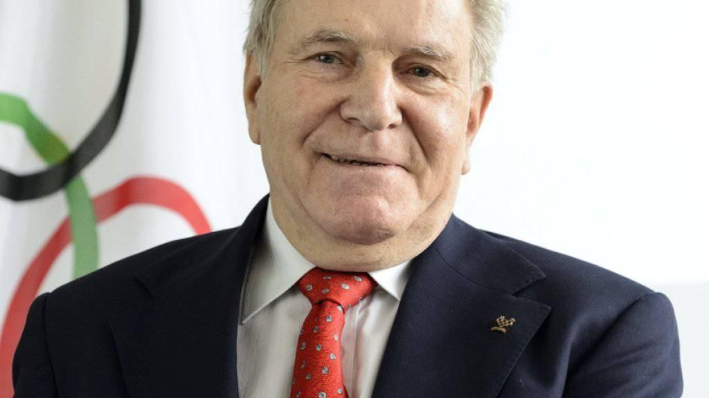 Der Neuenburger Denis Oswald nimmt seit Freitag wieder Einsitz in die IOC-Exekutive