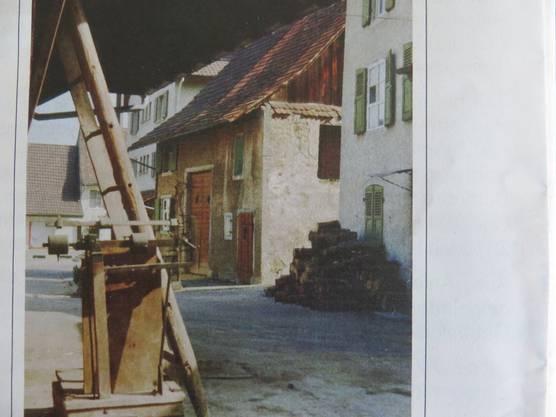 Frenkendorf in alten Tagen