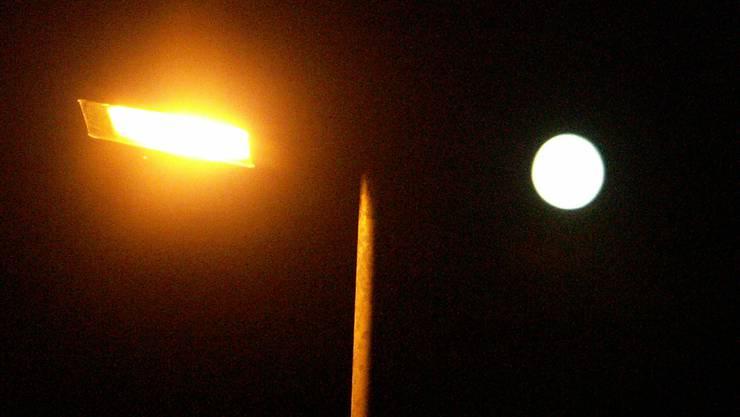 Die Strassenlampen sollen früher abgeschaltet werden