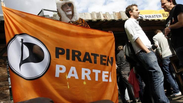 Piratenpartei - Auftritt Deutschland.