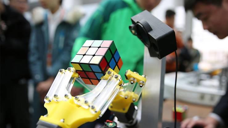 Ein chinesischer Roboter. (Archivbild)