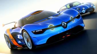 Zum 50. Geburtstag von Alpine präsentierte Renault den A110/50.