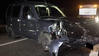 Unfall auf A1 bei Brunegg (26. Mai)