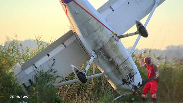 Flugzeugunglück in Wangen