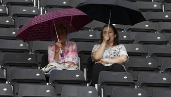 Am Mittwoch sorgte Dauerregen für einen spielfreien Tag in Paris (Symbolbild)