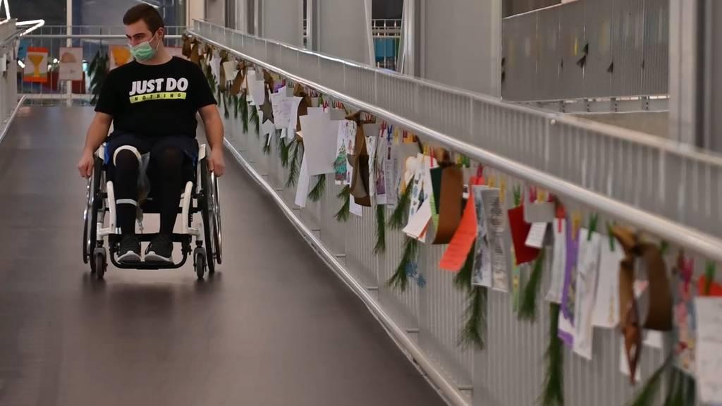 Über 3'000 Weihnachtsgrüsse an Paraplegiker