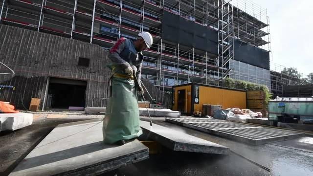 Die Sanierungsarbeiten bei der Kantonsschule Olten laufen auf Hochtouren