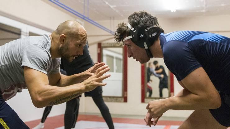 Ivano Musardo (links) konzentriert sich auf den Angriff seines Partners.