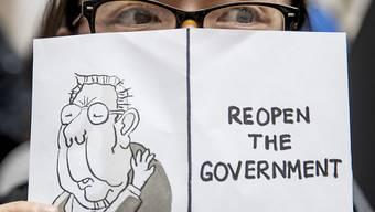"""Die Meinung dieser Bundesangestellten ist eindeutig: """"Beendet den Shutdown."""""""