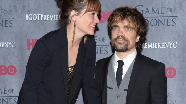 Peter Dinklage mit Ehefrau Erica Schmidt (Archiv)
