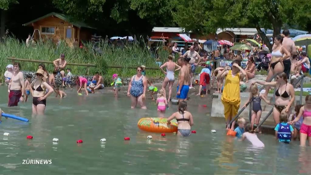 Besucherbegrenzung abgeschafft: Zürcher Badis werden gestürmt