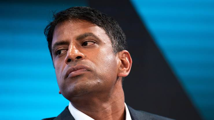 Ihm droht Ärger aus den USA: Novartis-Chef Vasant Narasimhan