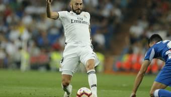 Karim Benzema steht Real vorderhand nicht zur Verfügung