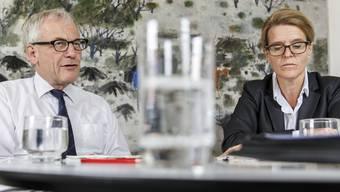 Erhielt Rückendeckung durch ihren Chef, Stadtpräsident Kurt Fluri; Andrea Lenggenhager, Leiterin Stadtbauamt.