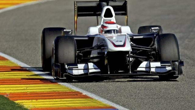 Tamui Kobayashi im BMW-Sauber