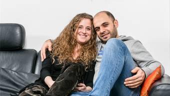 Liebe zwischen zwei Kulturen: Danielle Zogg und Bashar Said.