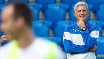 «Ich könnte auch eine eventuelle Niederlage in Slowenien verkraften», sagt der Schweizer Fussball-Nationaltrainer Vladimir Petkovic.