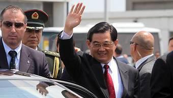 Staatschef Hu Jintao in Rom