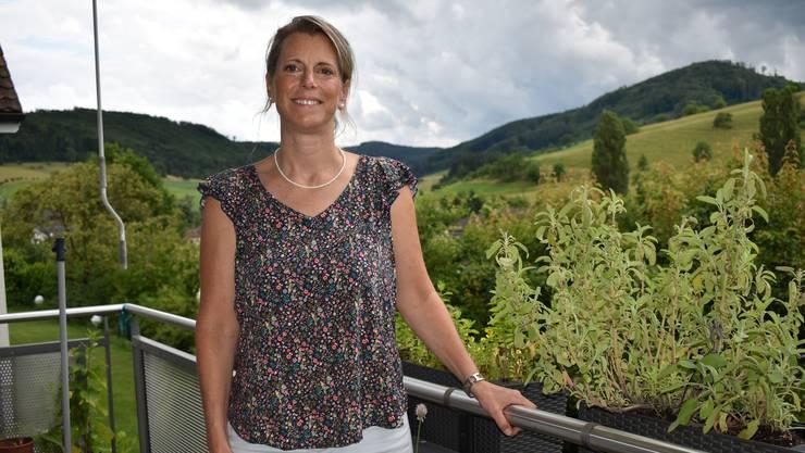 Seit 2017 ist sie im Magdener Gemeinderat – jetzt kandidiert Carole Binder-Meury für den Nationalrat.