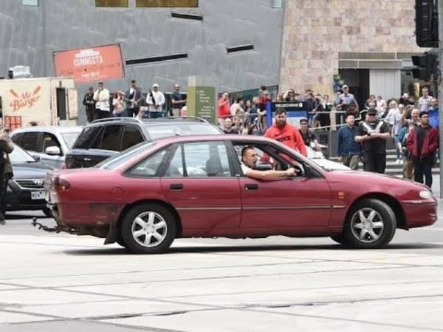Dieses Video zeigt den Amokfahrer von Melbourne