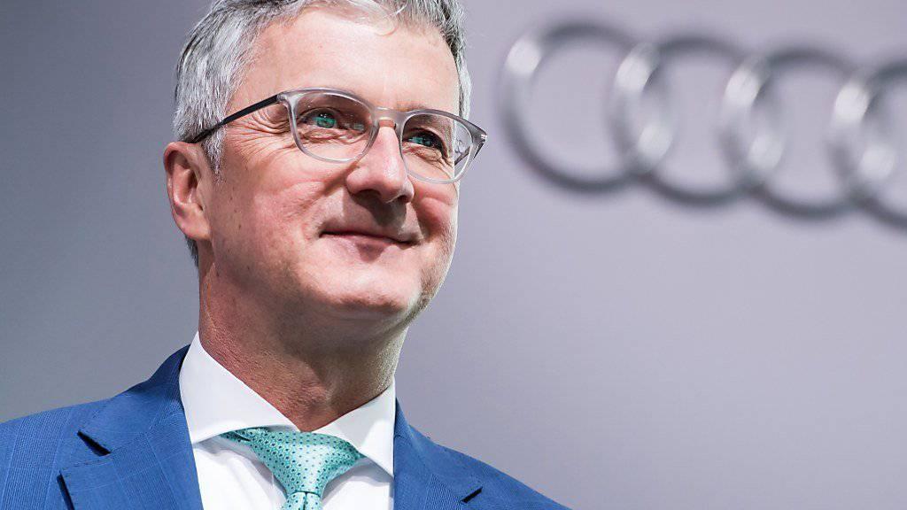 Staatsanwaltschaft klagt früheren Audi-Chef an