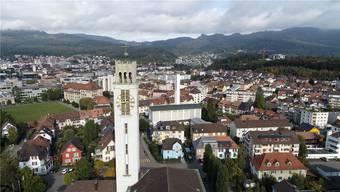 Die Friedenskirche wird in diesen Tagen das Geläut zwischen 22 Uhr und 6 Uhr einstellen. Bild: Bruno Kissling