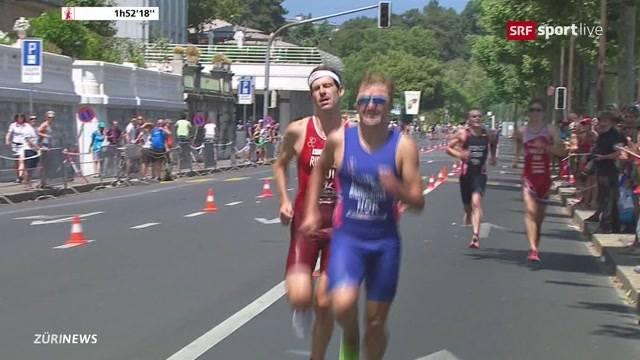 Zürcher holen Gold und Silber an Triathlon-EM