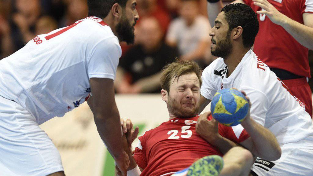 Tunesien hatte die Schweizer im Griff