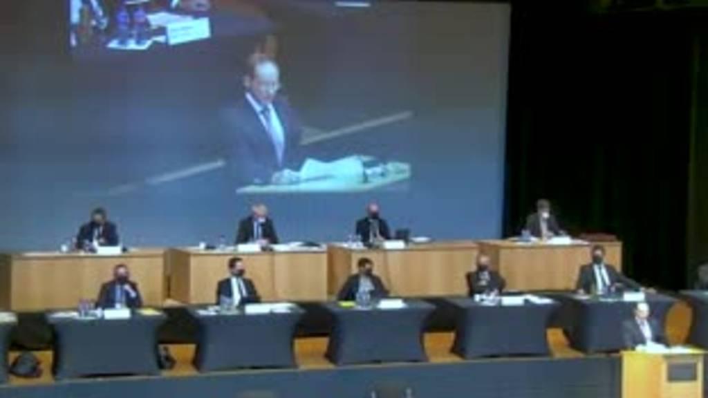Eklat im Kantonsparlament: Präsident muss SVP-Kollege Mikrofon ausschalten