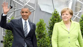 Barack Obama am Kirchentag in Deutschland