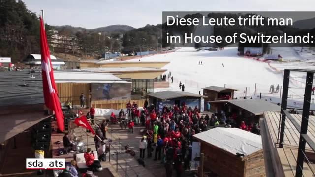 Diese Leute trifft man im House of Switzerland