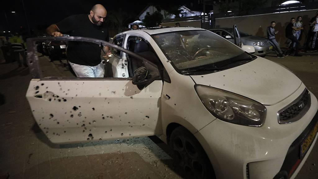 Israel fliegt nach Raketenbeschuss Angriffe im Gazastreifen