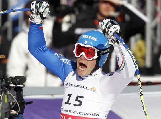 Christof Innerhofer gewinnt den Super-G.