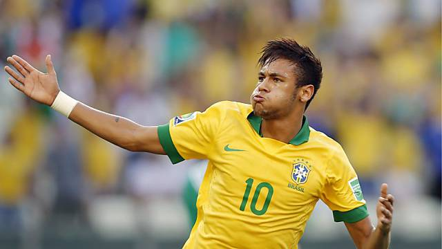 Neymar schoss gegen Mexiko sein zweites Tor am Confederations Cup