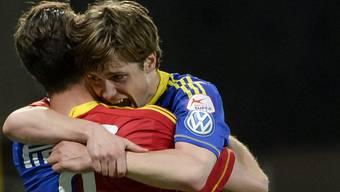 Valentin Stocker schiesst den FCB in den Cup-Final