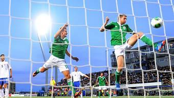 Per Mertesacker (rechts) schoss Deutschland mit 1:0 in Führung